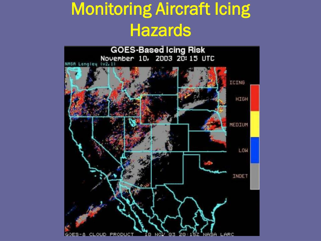 Monitoring Aircraft Icing Hazards