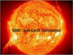 smd sun earth connection