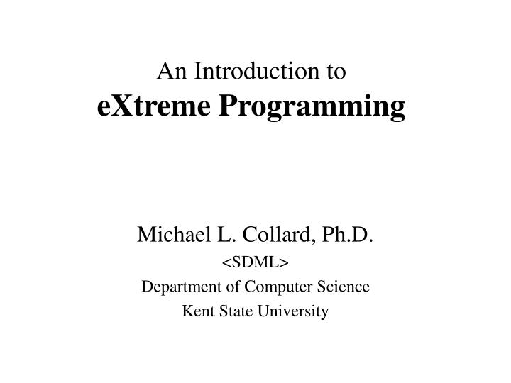 An introduction to extreme programming l.jpg