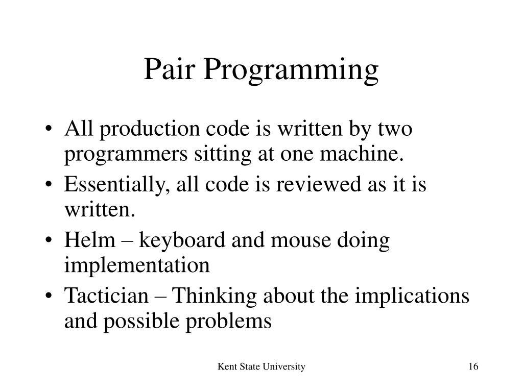 Pair Programming