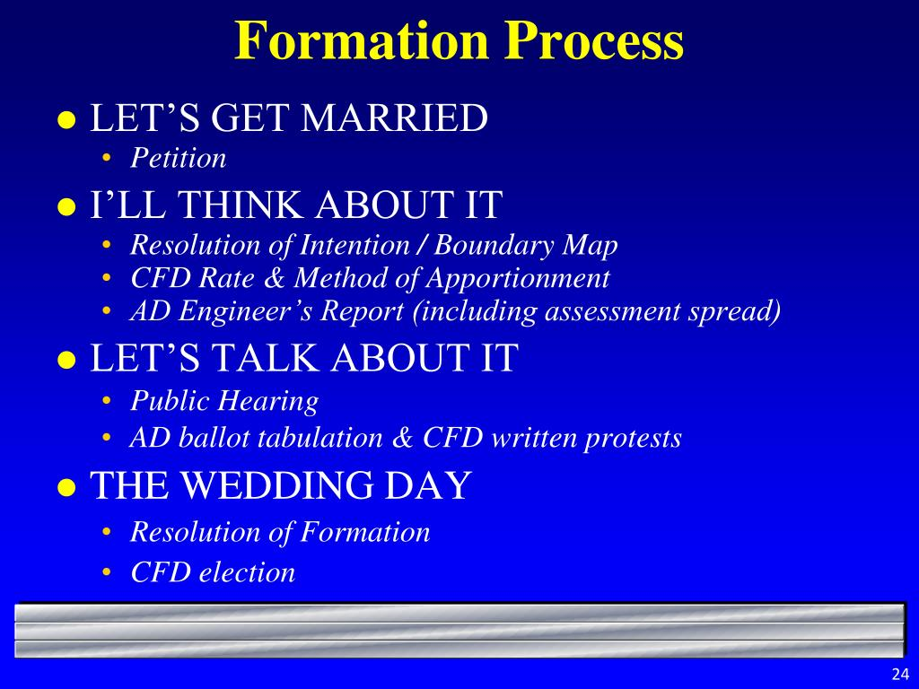 Formation Process