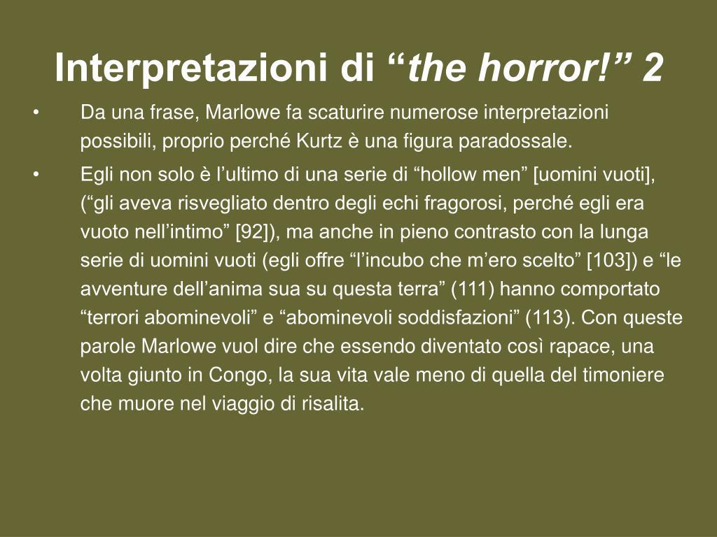 """Interpretazioni di """""""