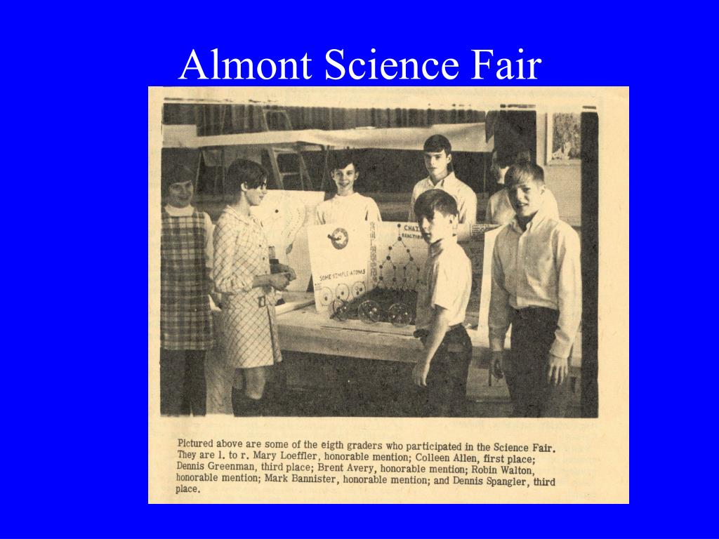 Almont Science Fair