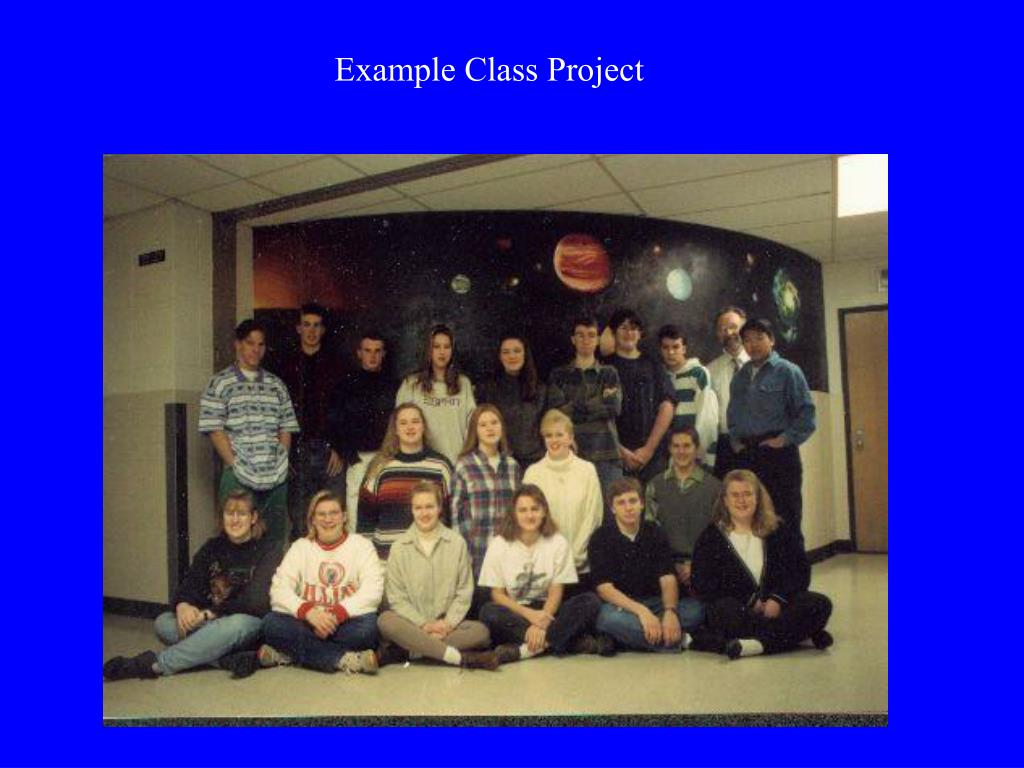 Example Class Project