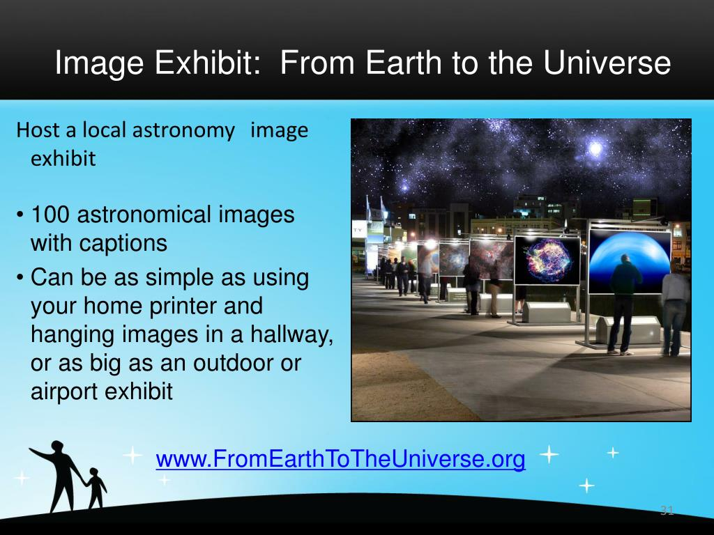 Image Exhibit:  From Earth to the Universe