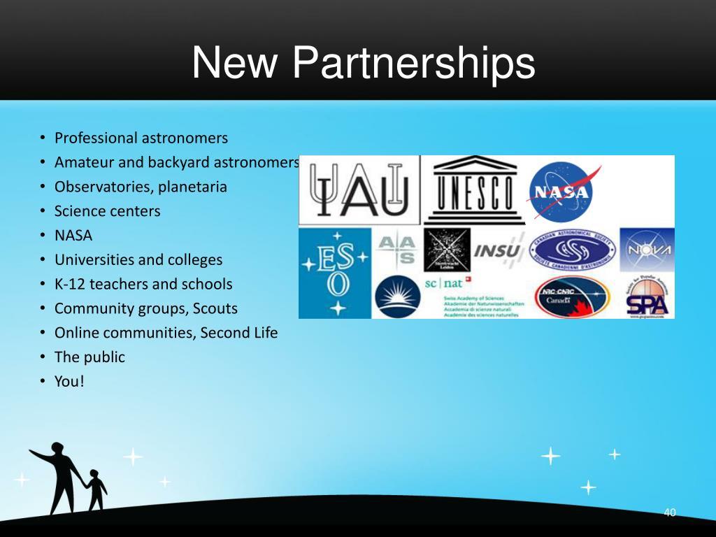 New Partnerships