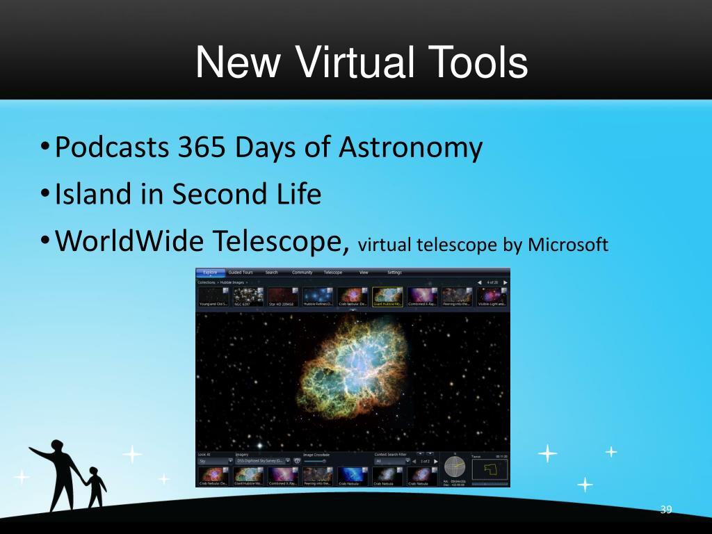 New Virtual Tools
