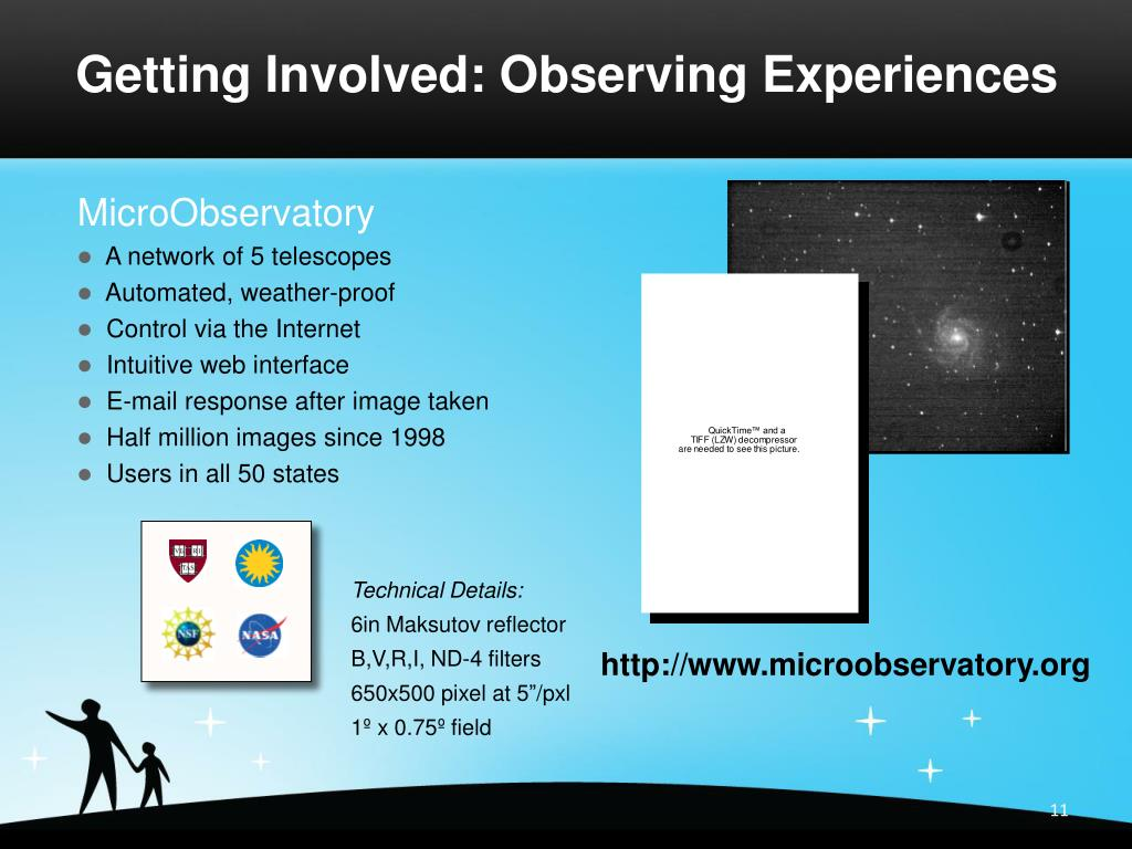 Getting Involved: Observing Experiences