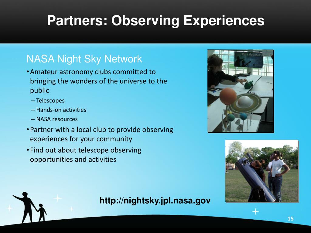 Partners: Observing Experiences