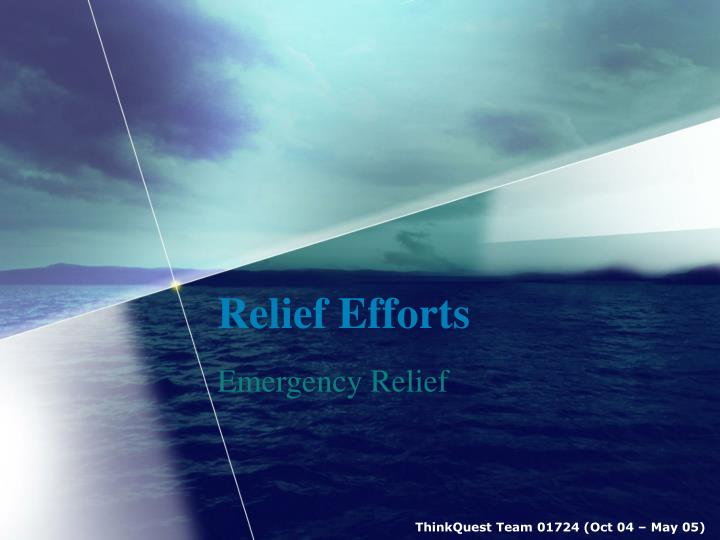Relief efforts l.jpg