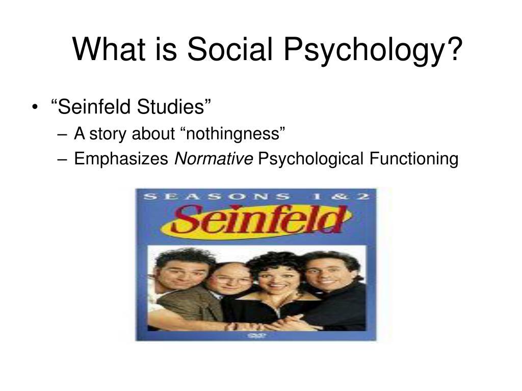 """Seinfeld Studies"""