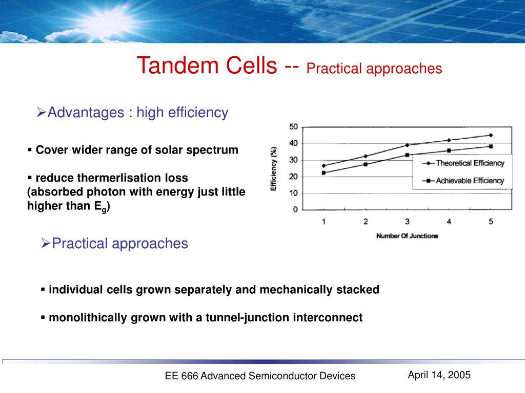 Tandem Cells --
