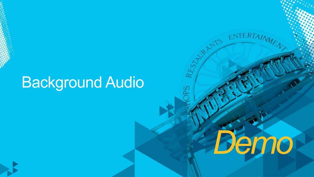 Background Audio