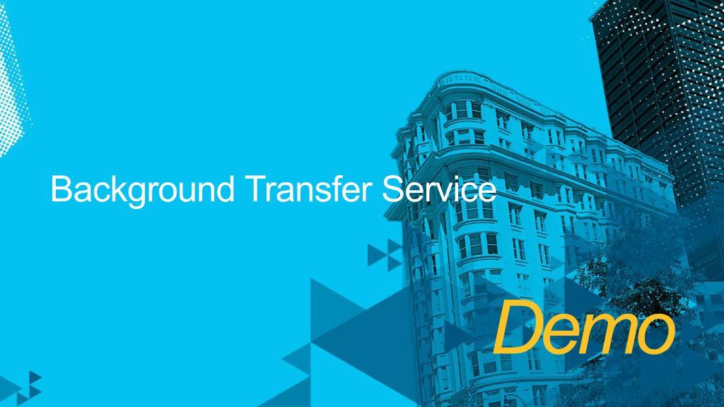 Background Transfer Service