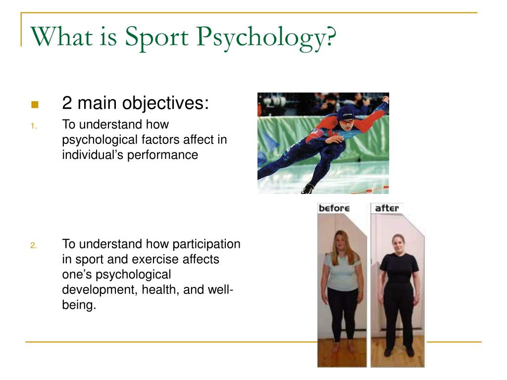What is Sport Psychology?