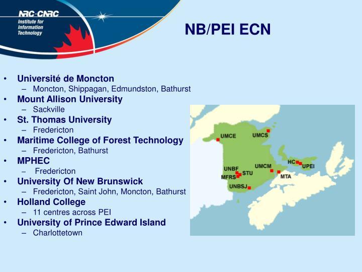 NB/PEI ECN