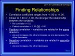 finding relationships19