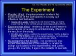 the experiment27
