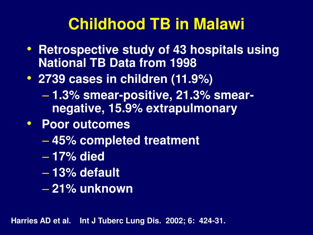 Childhood TB in Malawi
