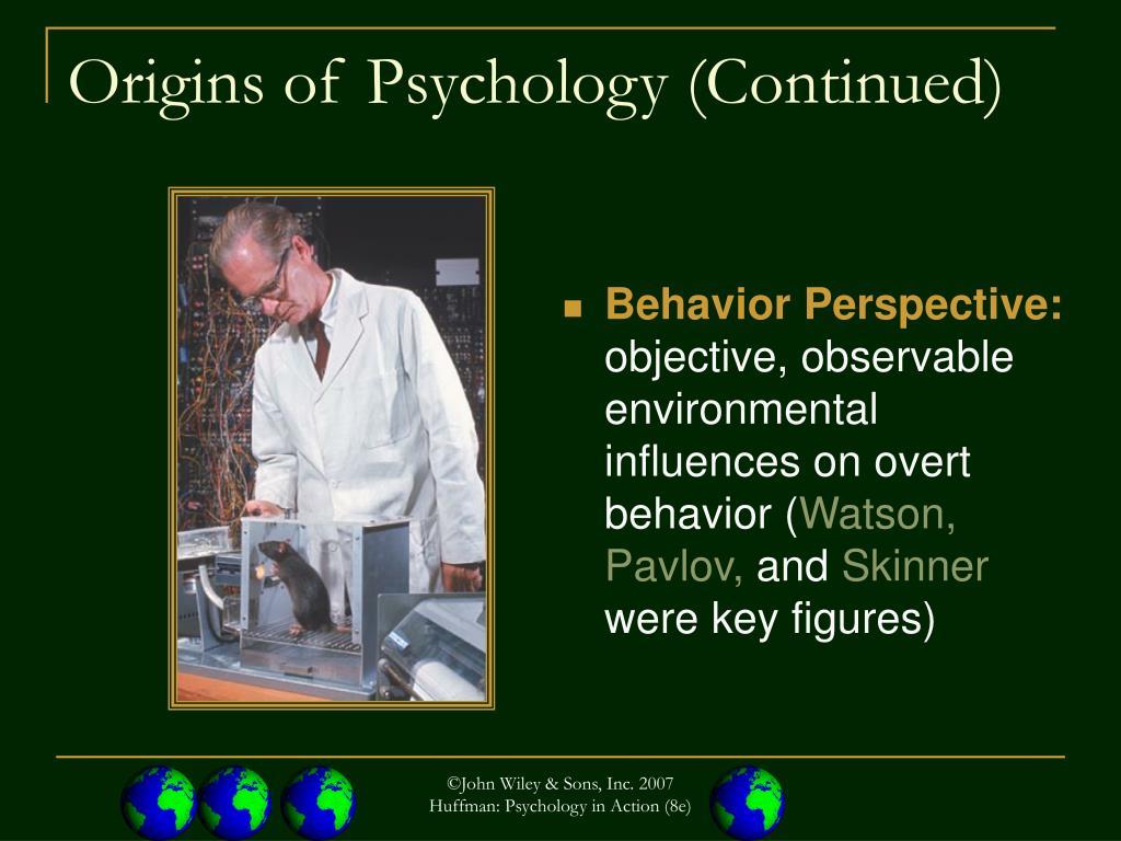 Behavior Perspective: