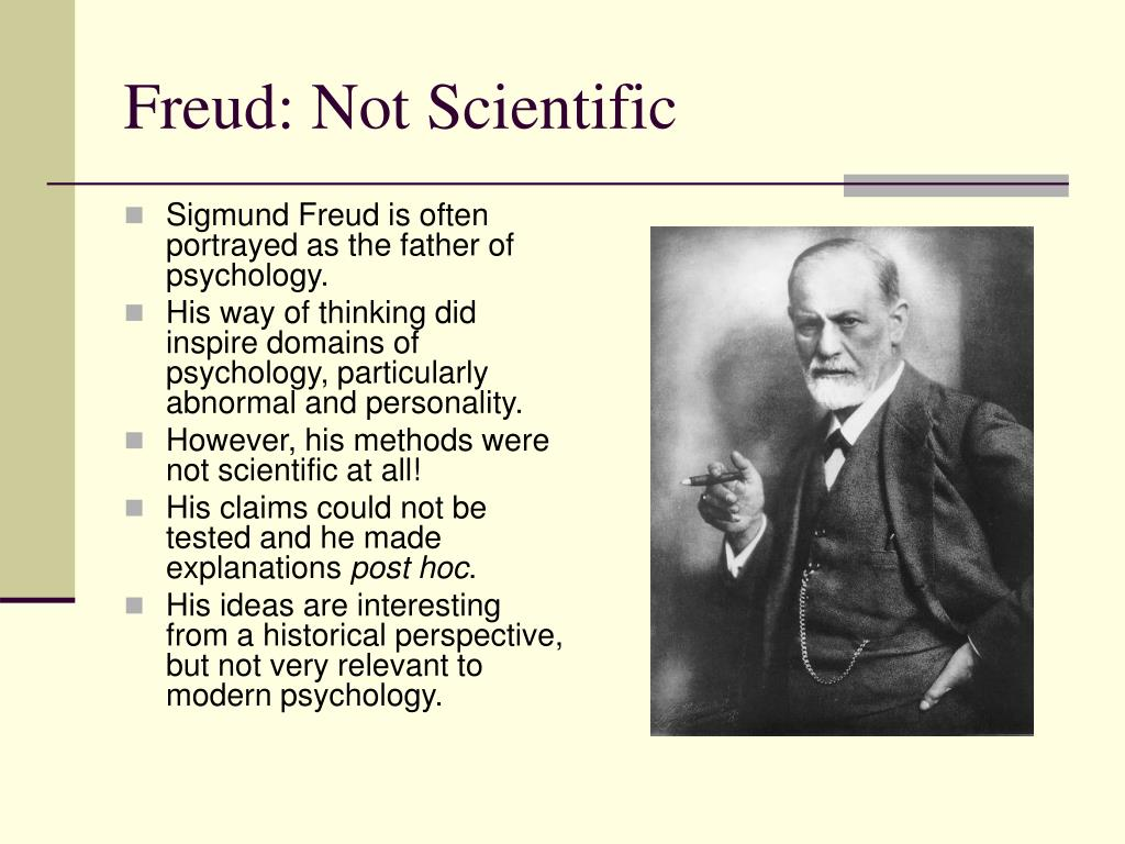 Freud: Not Scientific