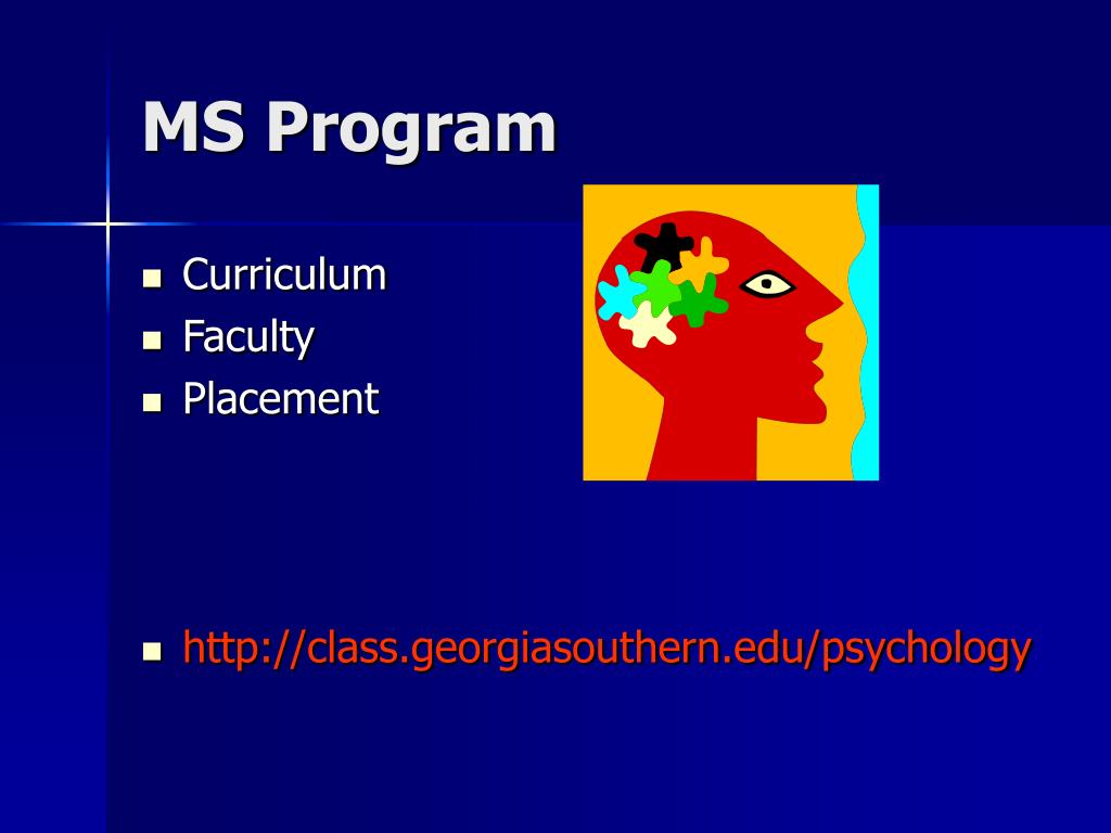 MS Program
