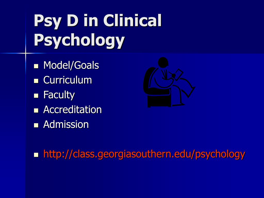 Psy D in Clinical Psychology