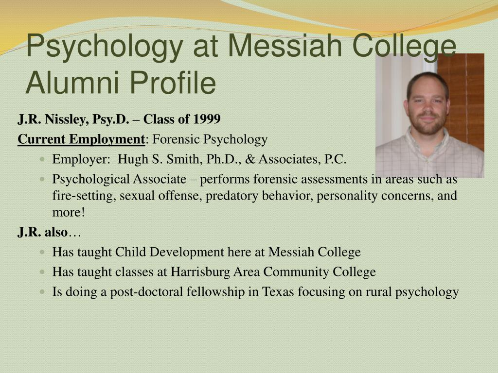 Psychology at Messiah College