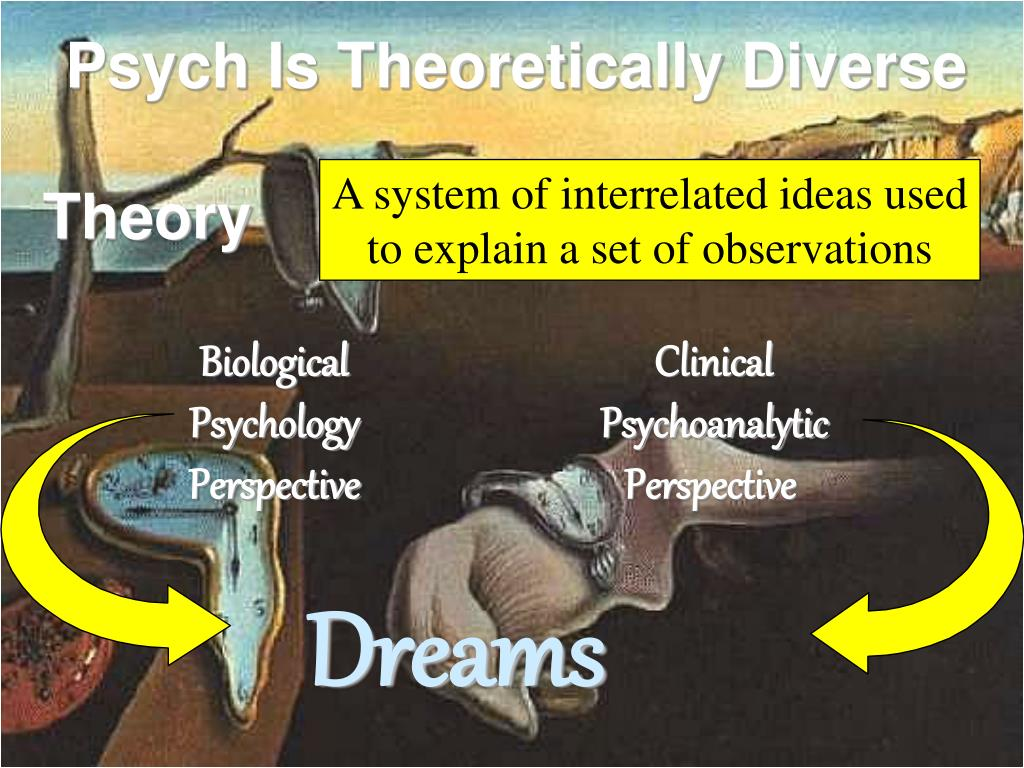 Psych Is Theoretically Diverse