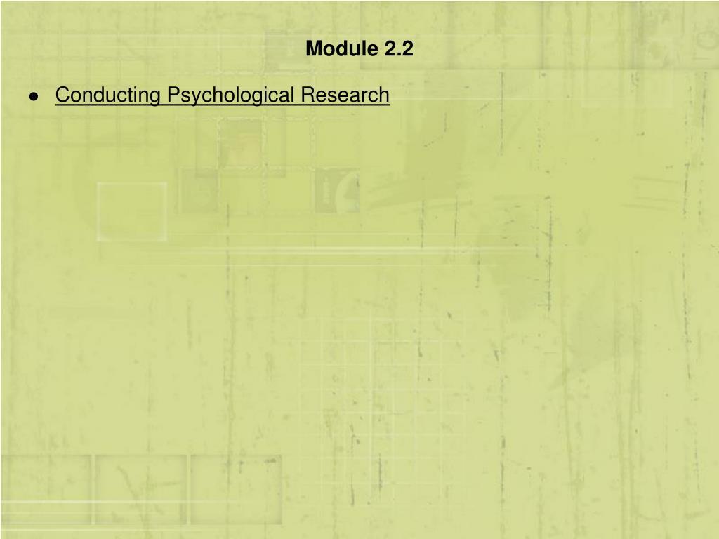 Module 2.2