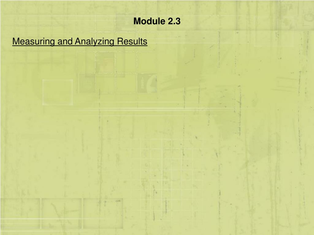 Module 2.3