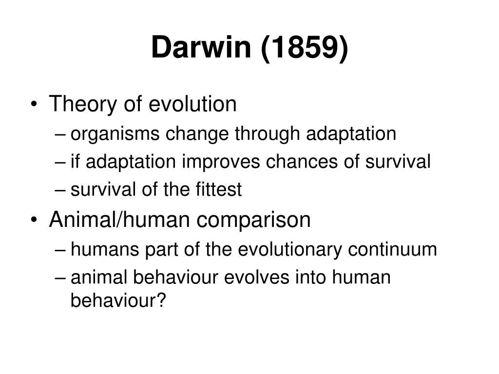 Darwin (1859)