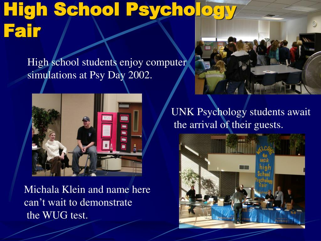 High School Psychology Fair