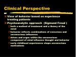 clinical perspective