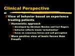 clinical perspective21