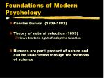 foundations of modern psychology