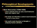 philosophical developments5