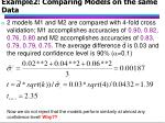 example2 comparing models on the same data