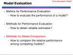 model evaluation88