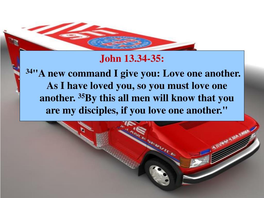 John 13.34-35: