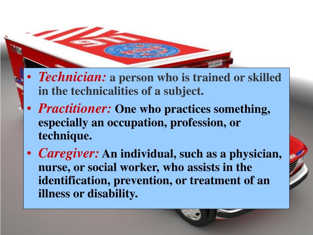 Technician:
