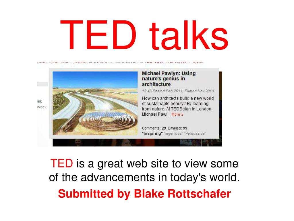 how to download ted talks for free