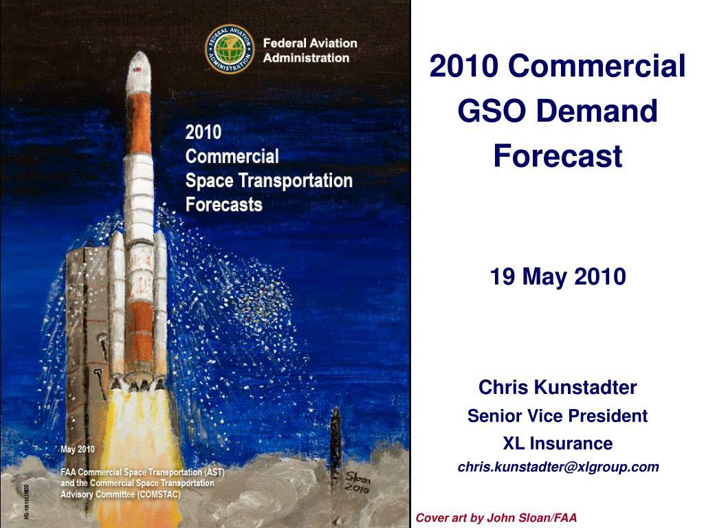 2010 commercial gso demand forecast