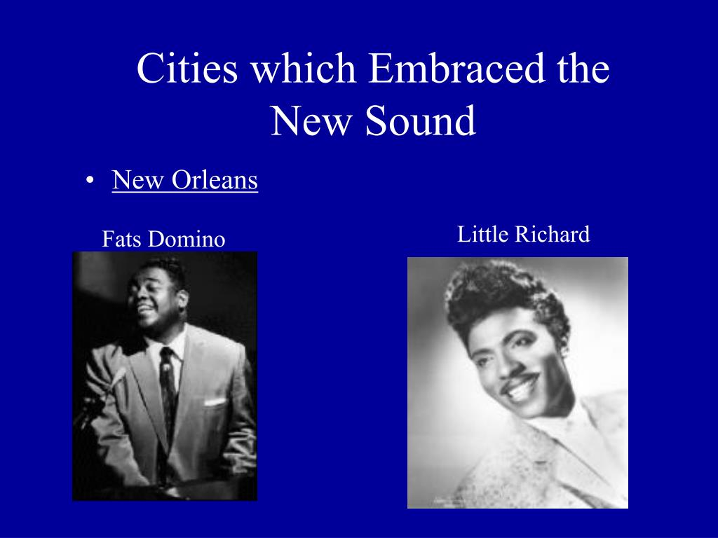 Cities which Embraced the New Sound