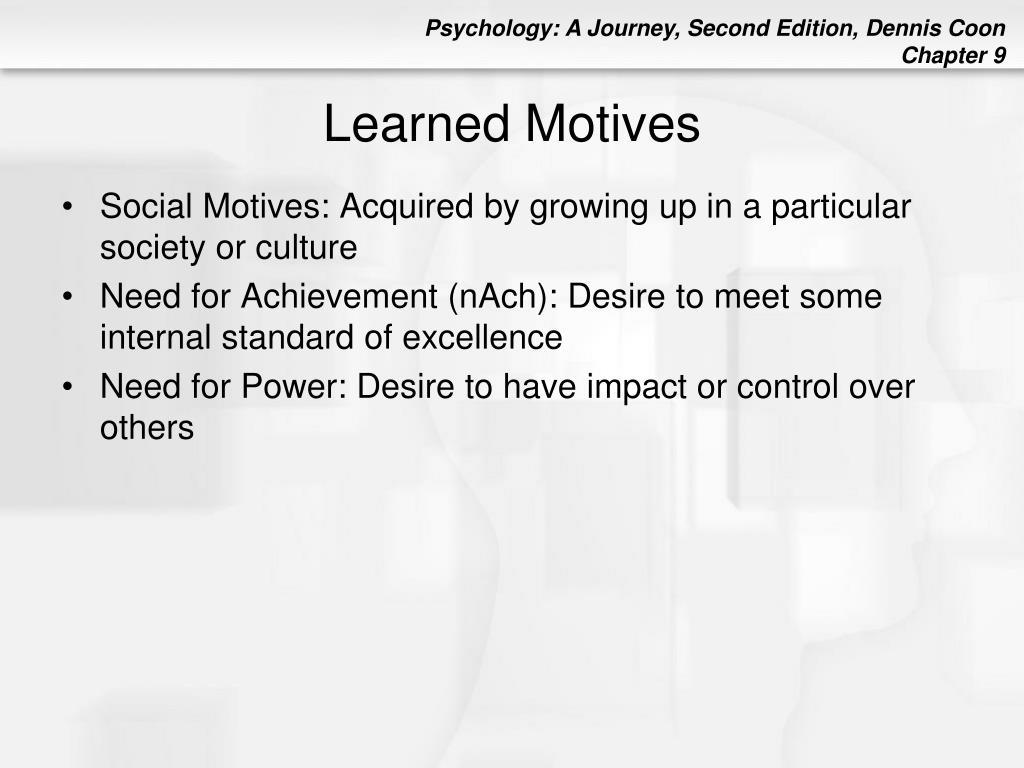 Learned Motives