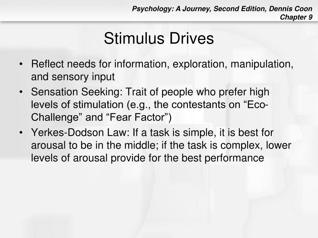 Stimulus Drives