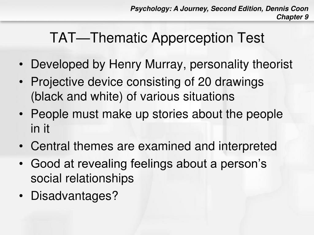 TAT—Thematic Apperception Test