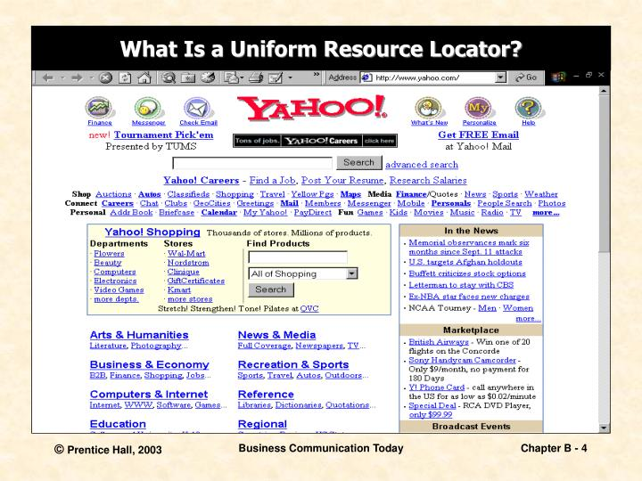 What Is a Uniform Resource Locator?