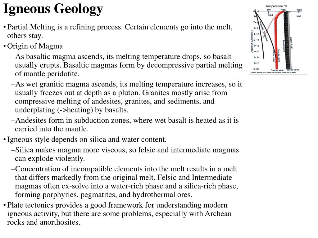 Igneous Geology