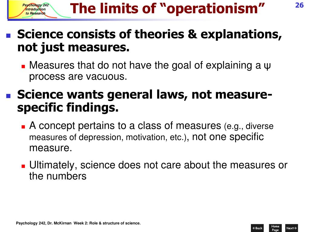 "The limits of ""operationism"""